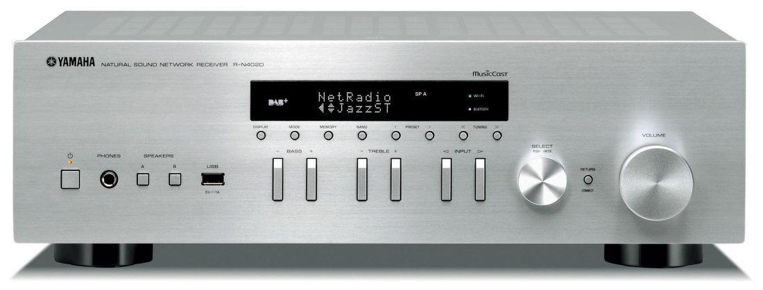 Yamaha R-N402 DAB stříbrný