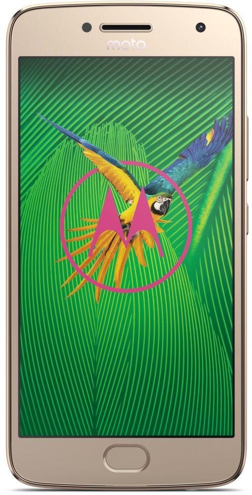 Motorola Moto G5 Plus Dual SIM zlatý