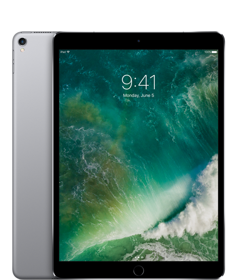 Apple iPad Pro 10,5'' Wi-Fi 512GB vesmírně šedý MPGH2FD/A