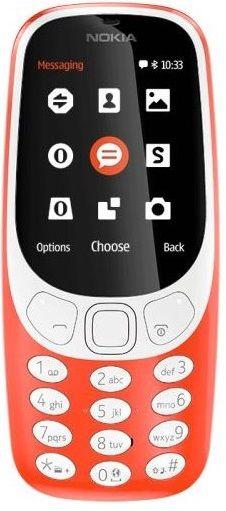 Nokia 3310 Dual SIM červený