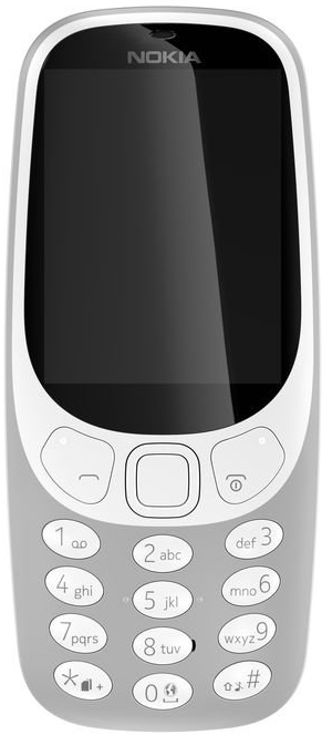 Nokia 3310 šedý
