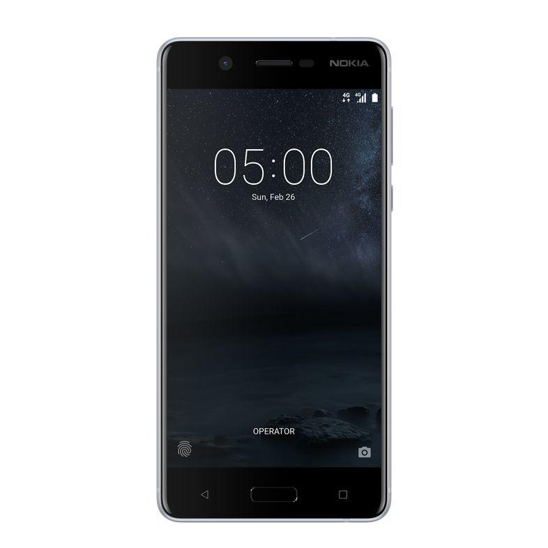 Nokia 5 Dual SIM stříbrný + dárek Nokia Sport Stereo Headset WH-501, černý zdarma