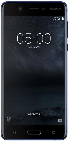 Nokia 5 Dual SIM modrý + dárek Nokia Sport Stereo Headset WH-501, černý zdarma