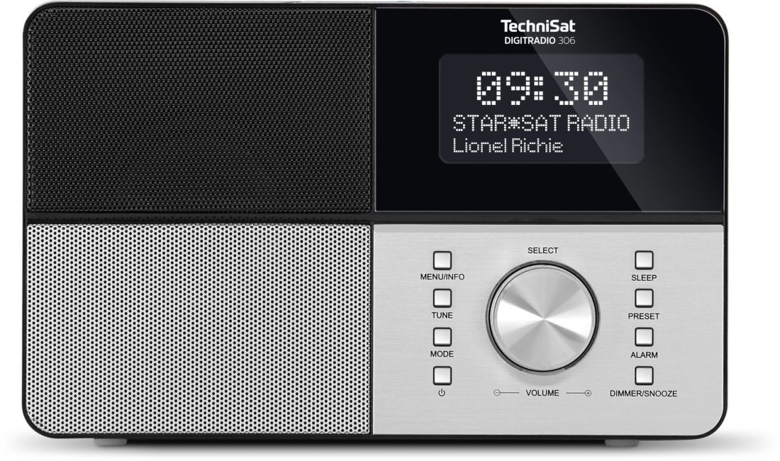 TechniSat DigitRadio 306 stříbrné