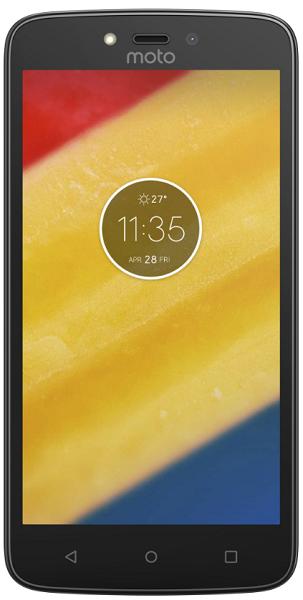 Motorola Moto C Plus Dual SIM červený