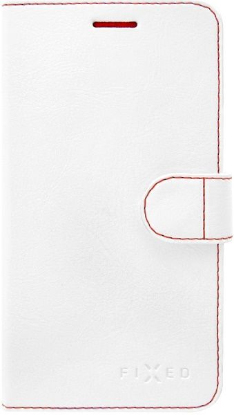 FIXED FIT knížkové pouzdro Huawei Y3 2017, bílé