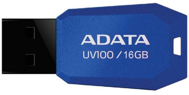 A-DATA UV100 16GB USB 2.0 modrý