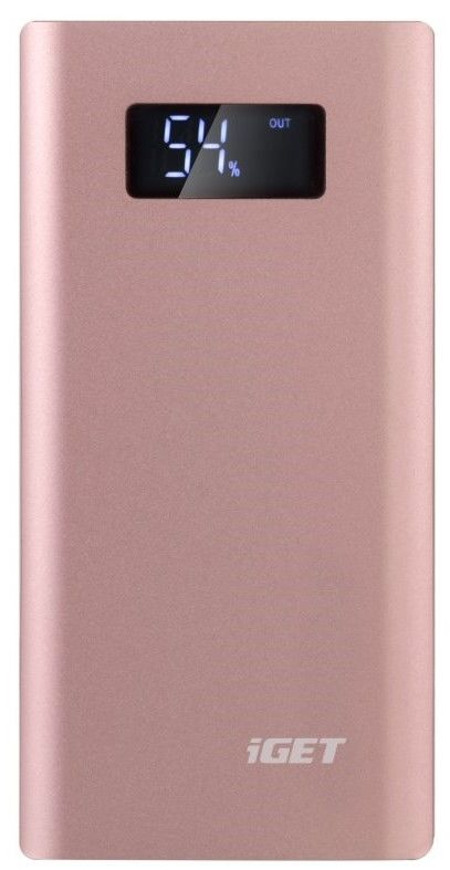 iGET Power B-10000P 10.000 mAh růžová