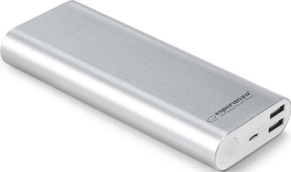 Esperanza EMP113s 10000 mAh, stříbrná
