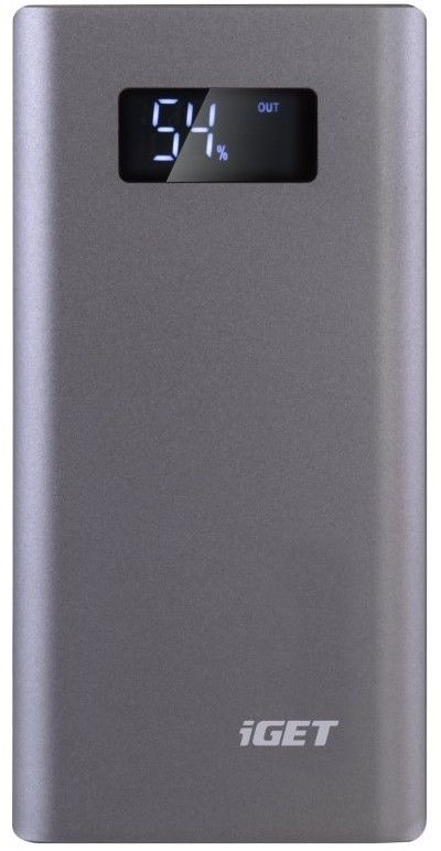 iGET Power B-10000G 10.000 mAh šedá