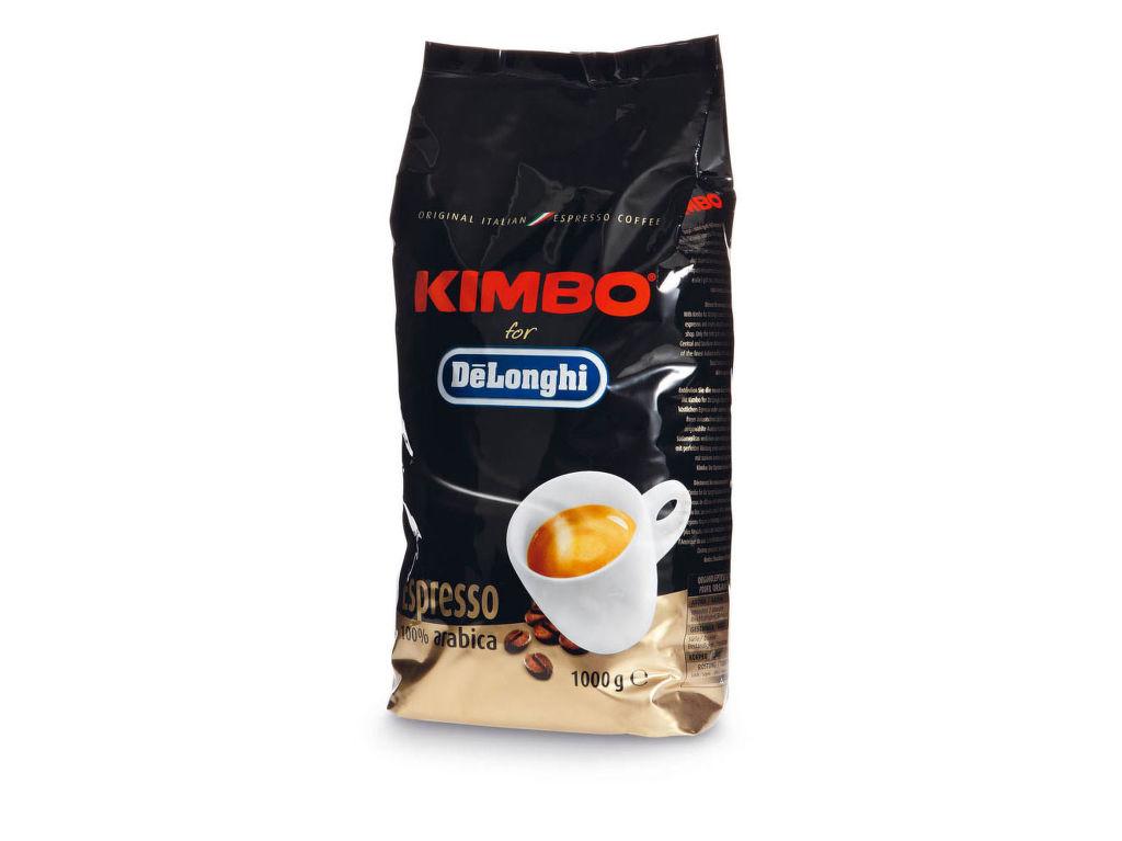 DéLonghi Kimbo Arabica zrnková káva (1kg)