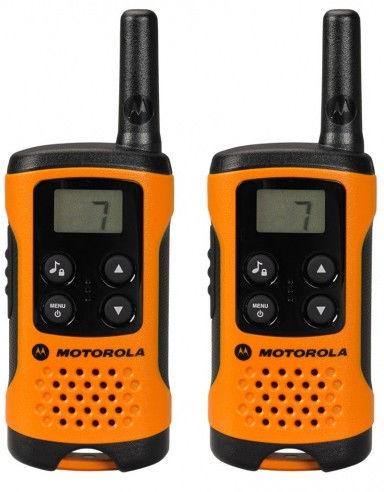 """Motorola TLKR T41 vysílačka oranžová - dodatečná sleva 150 Kč po zadání kódu """"m03let150"""""""