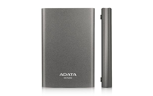 "A-DATA Choice HC500 2,5"" 1TB USB 3.0 (titánový)"