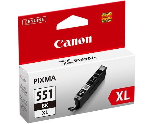 Canon CLI-551BK XL black - inkoustová náplň