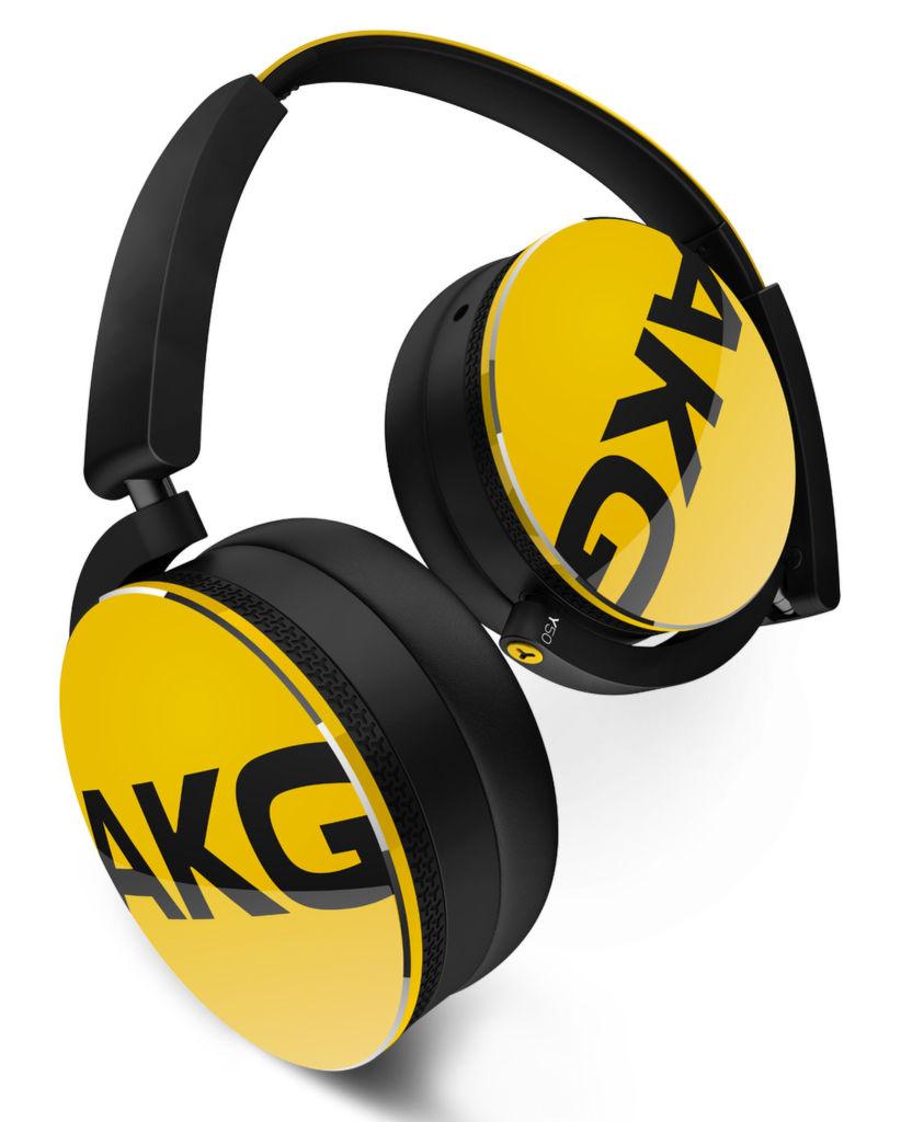 AKG Y50 (černo-žlutá)