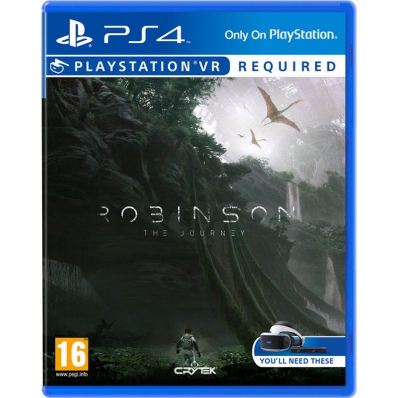 Sony Robinson: The Journey - VR hra na PS4