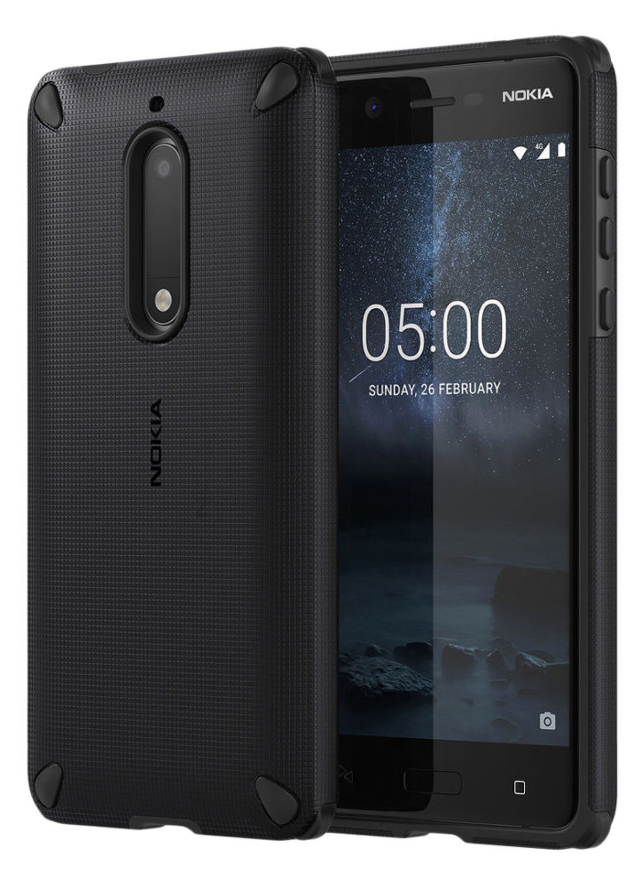 Nokia Rugged Impact Case pro Nokia 5, Pitch black