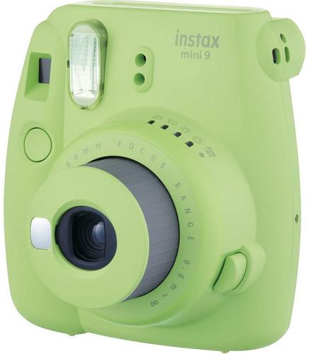 Fujifilm Instax Mini 9 zelený + Pouzdro + 10ks filmů