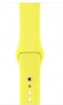 Apple Watch 38 SP Flash řemínek žlutý