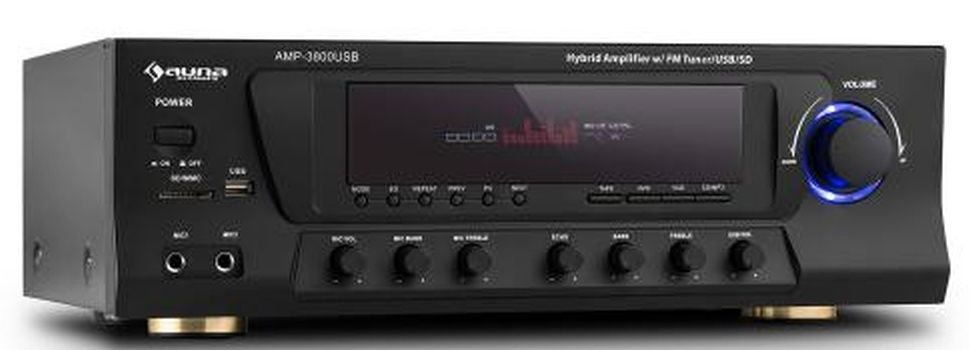 Auna AMP-3800 USB černý