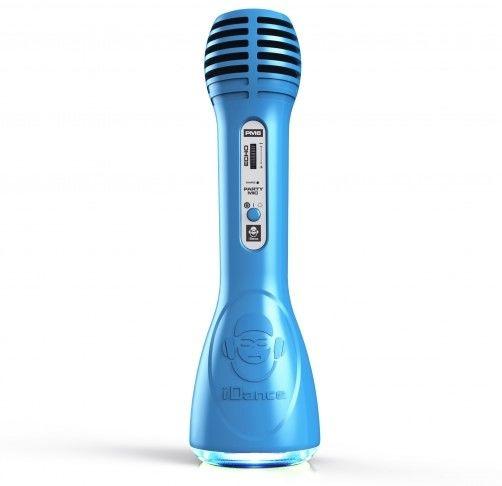 iDance PM-6 modrý párty mikrofon