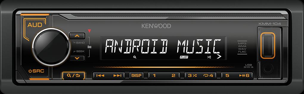 Kenwood KMM-104AY oranžové