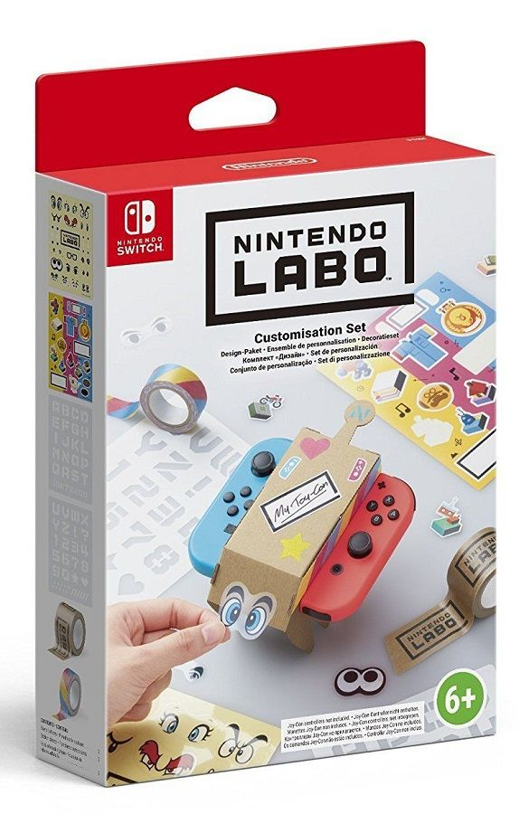 Nintendo Labo Customisation Set