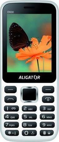 Aligator D930 Dual SIM, bílý