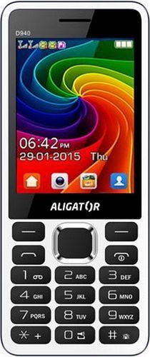 Aligator D940 Dual SIM, bíly