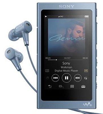 Sony NW-A45HNL 16GB modrý