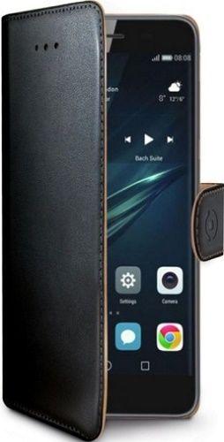 Celly Wally knížkové pouzdro pro Huawei Y6 2017, černá