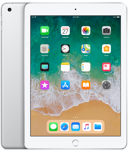 Apple iPad 2018 32GB WiFi stříbrný