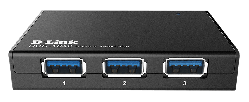 D-Link DUB-1340 4-Port - USB 3.0 hub