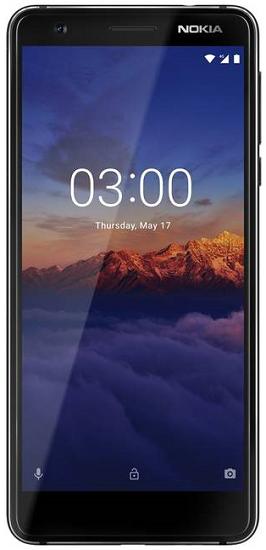 Nokia 3.1 Dual SIM černý
