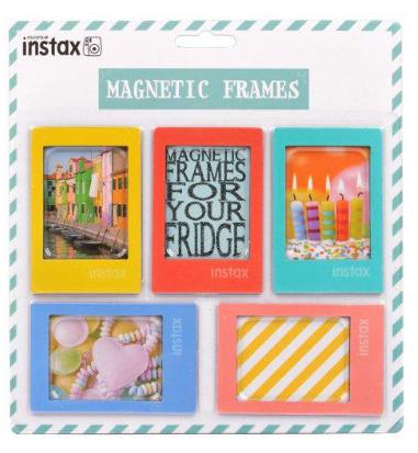 Fujifilm Instax magnetické rámečky 5ks, syté barvy