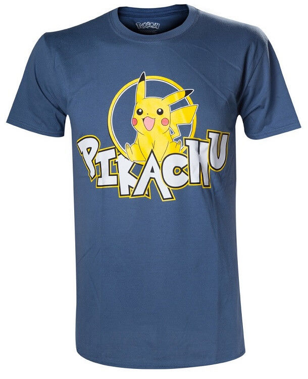 Pokémon Pikachu M modré