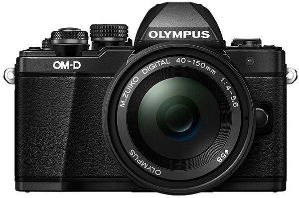 Olympus E-M10 Mark II + 14-42mm II R + 40-150mm R černý