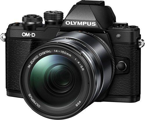 Olympus E-M10 Mark II + M. Zuiko ED 14-150 mm II, černá
