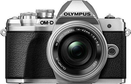 Olympus OM-D E-M10 Mark II + 14-42mm II R + 40-150mm R stříbrný