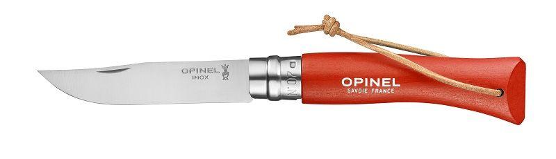 Opinel N°07 Trekking tmavě-oranžový nůž s poutkem