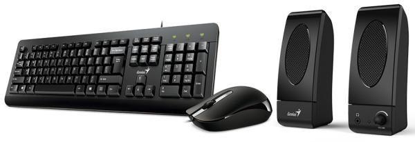 Genius KMS-U130 set reproduktory+klávesnice+myš