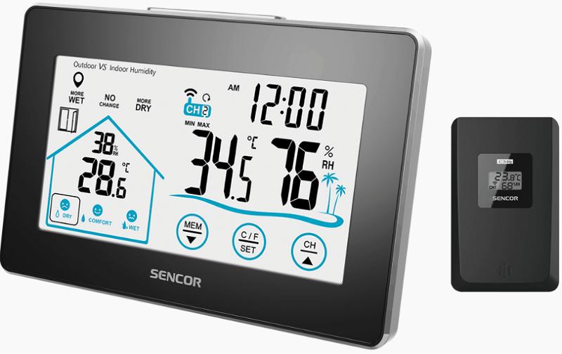 Sencor SWS 2900 černo-stříbrná