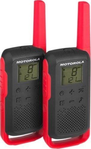 Motorola Talkabout T62, červeno-černá