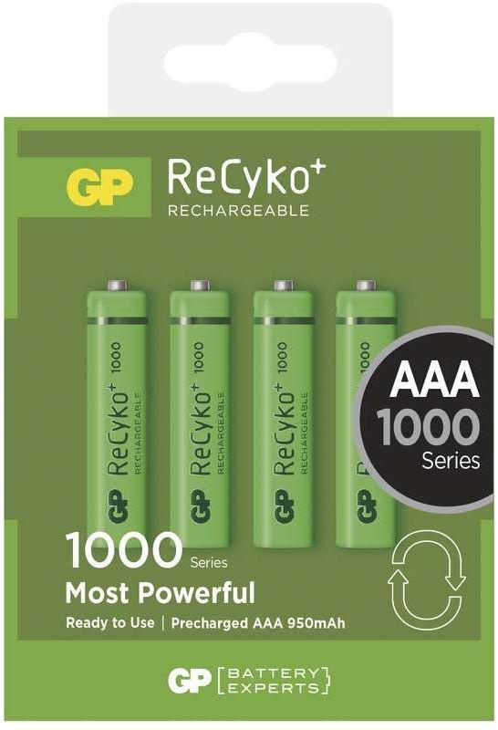 GP ReCyko+ 1000 HR03 (AAA), 4 ks