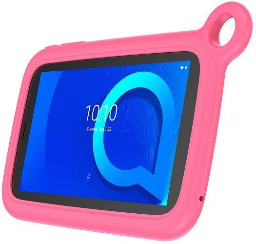 Alcatel 1T 7 KIDS WiFi 8068-2AALE11-2 černý + růžový ochranný obal