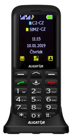 Aligator A700 Senior černý