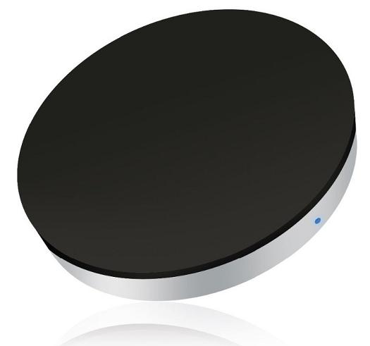 Zens Round Twin Pack bezdrátové nabíječky 5 W 2ks, černá