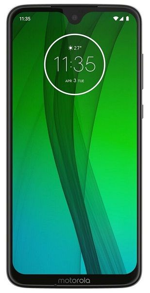 Motorola Moto G7 Dual SIM černý