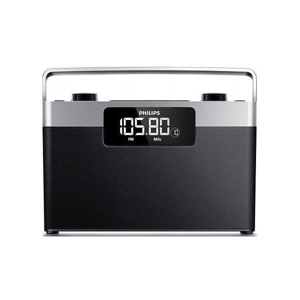 Philips AE2430 černé/stříbrné - rádio