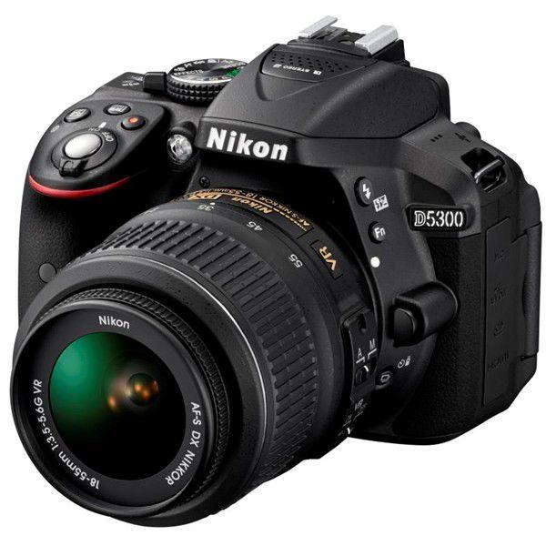 Nikon D5300 + objektiv 18-55 AF-P DX VR